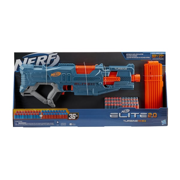Pistolet Nerf Elite 2.0 Turbine CS 18