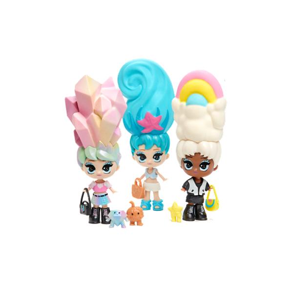 Pack de 3 poupées Blume