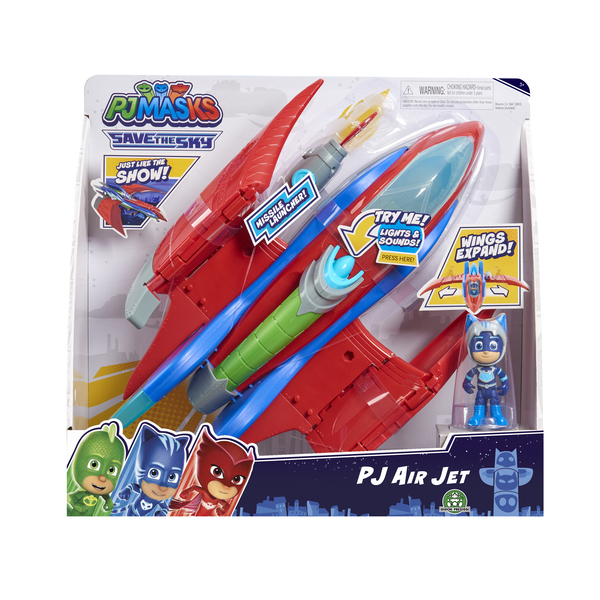 Jet de secours + figurine Yoyo 7 cm Pyjamasques