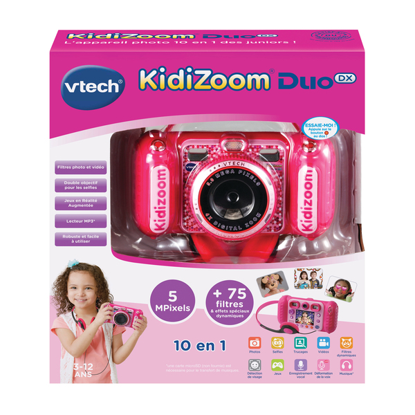 Appareil photo Kidizoom duo DX rose