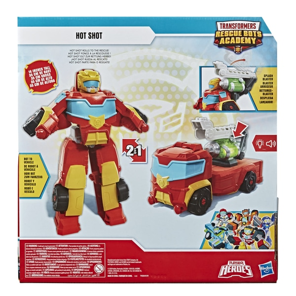 Figurine Hot Shot 35 cm - Transformers Rescue Bots Academy