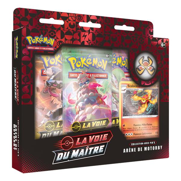 Pokémon coffret boosters pin 3.5