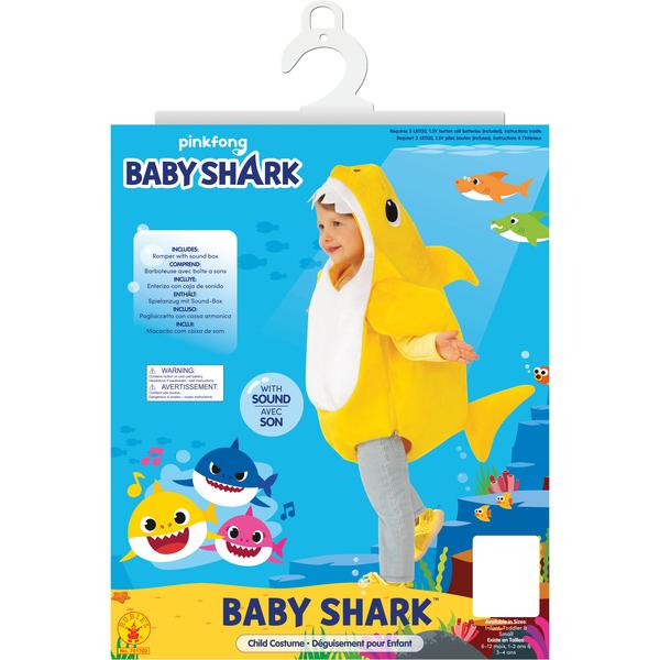 Déguisement panoplie Baby Shark
