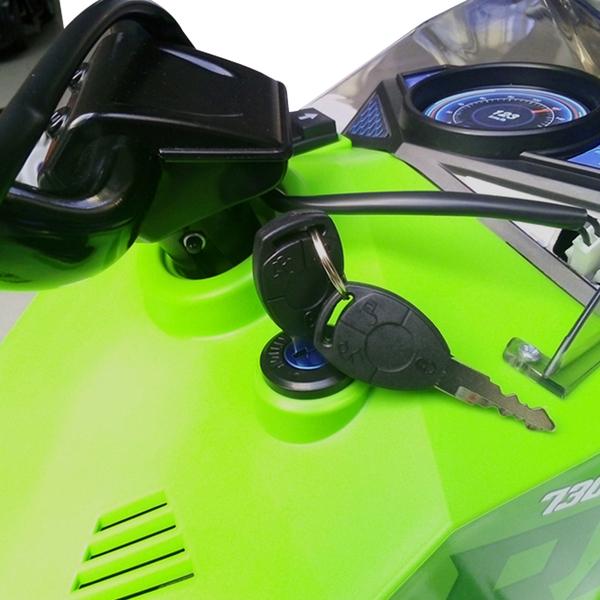 Quad électrique 12 V GM Kawasaki