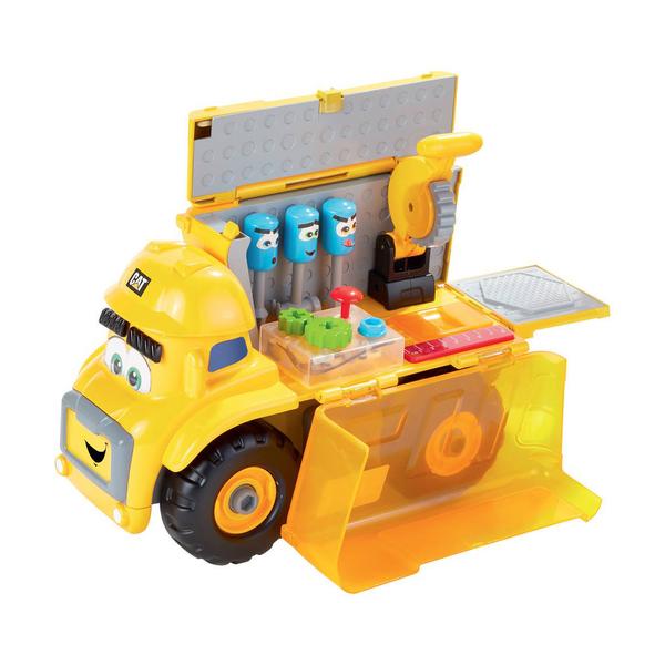 Camion Caterpillar Fix it le meccano 30 cm