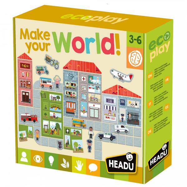 Puzzle Fabrique ton monde