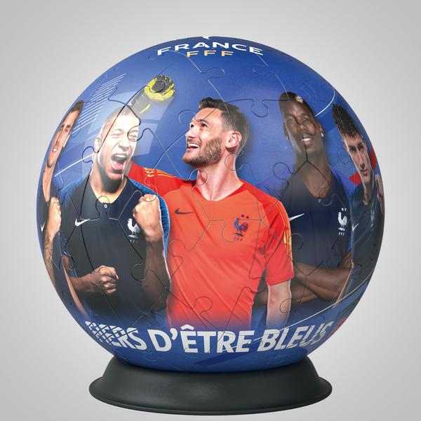 Puzzle 3D rond 72 pièces Fédération Française de football