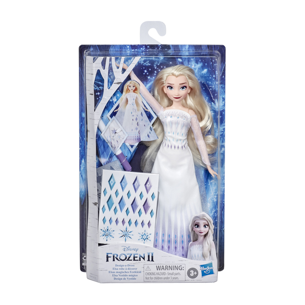 Poupée Elsa Robe à décorer - La Reine des Neiges 2