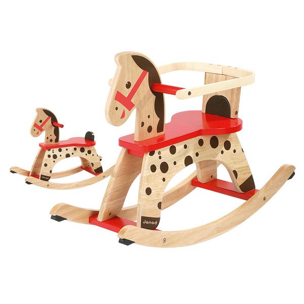 cheval bascule caramel janod king jouet porteurs jouets bascules janod jeux d 39 veil. Black Bedroom Furniture Sets. Home Design Ideas