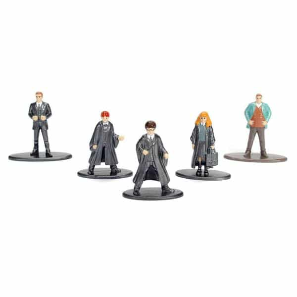 5 figurines Harry Potter - La coupe de feu