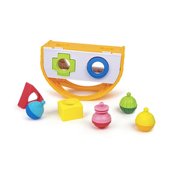 Boîtes à formes et perles éducatives - 16 pièces