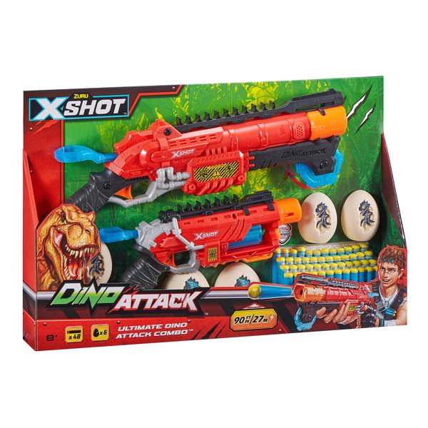 Pistolet X shot dino attack pack