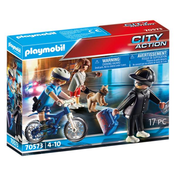 70573 - Playmobil CIty Action - Policière et voleur