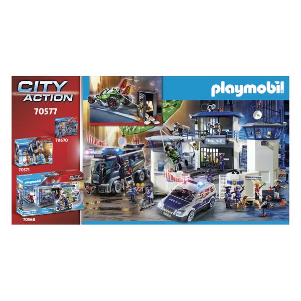 70577 - Playmobil City Action - Karts de policier et bandit