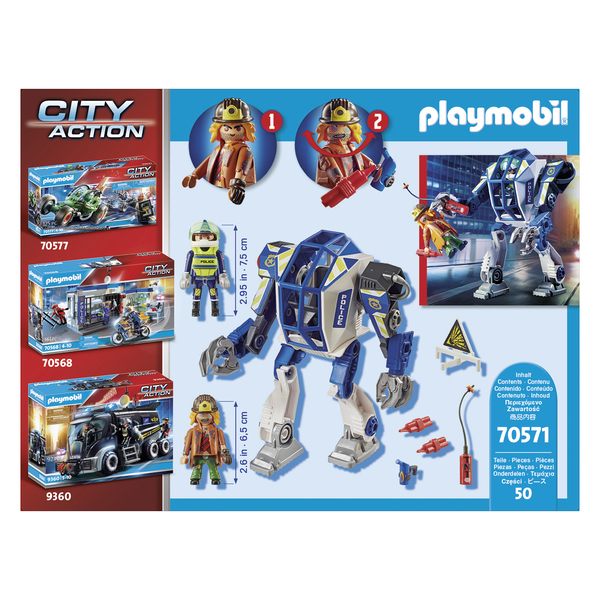 70571 - Playmobil City Action - Robot de police