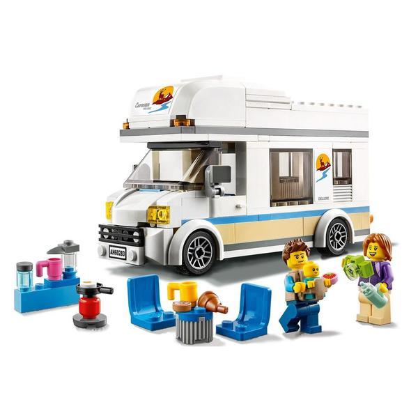 60283 - LEGO® City - Le camping-car de vacances