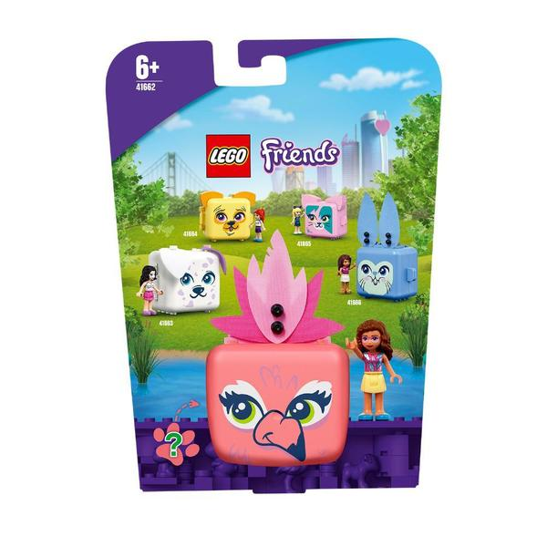 41662 - LEGO® Friends - Le cube flamant rose d