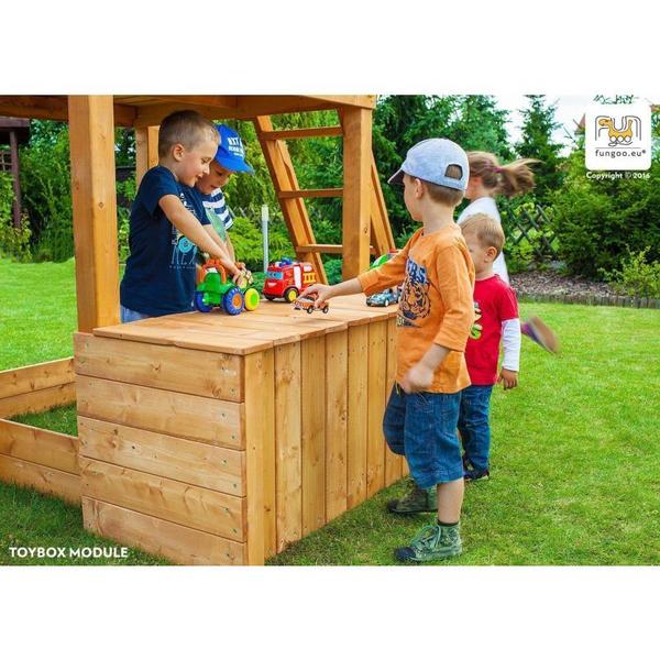 Aire de jeux en bois - Maxi Play Box