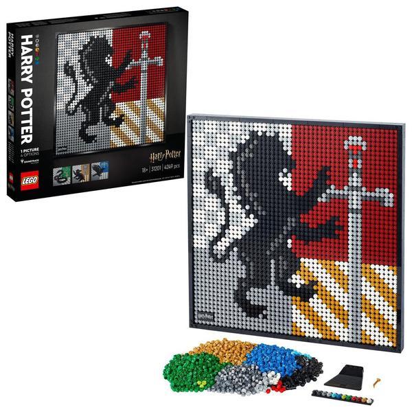 31201 - LEGO® Art - Harry Potter™ Les blasons de Poudlard