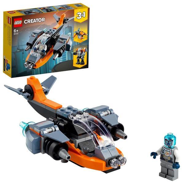 31111 - LEGO® Creator - Le cyber drone