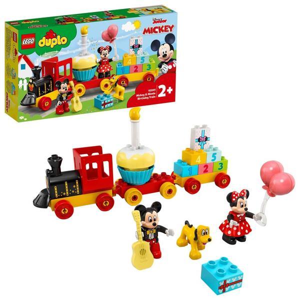 10941 - LEGO® DUPLO - Le train d'anniversaire de Mickey et Minnie