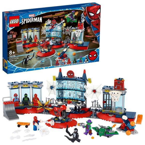 76175 - LEGO® Marvel Super Heroes - L'attaque contre le repaire de Spider