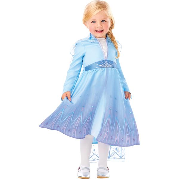 Déguisement Elsa - La Reine des Neiges 2 - 2/3 ans