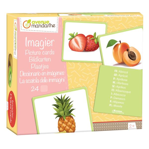Imagier fruits multilingue