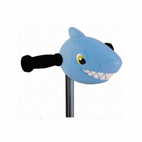 Tête de requin bleu clair