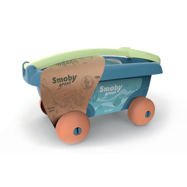 Chariot de plage garni - Smoby Green