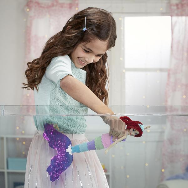 Poupée Ariel La Petite Sirène Arc en Ciel 30 cm - Disney Princesses
