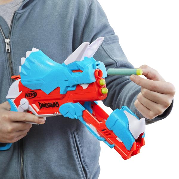 Pistolet Nerf DinoSquad Tricerablast