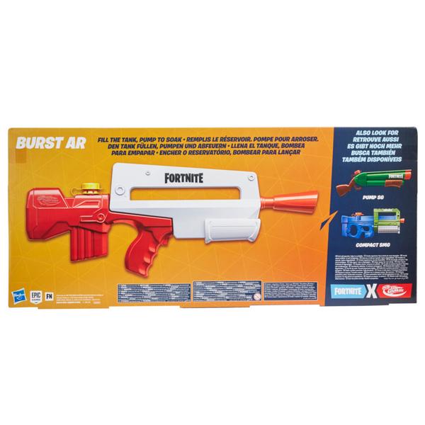 Pistolet à eau Nerf Super Soaker Fortnite Burst AR