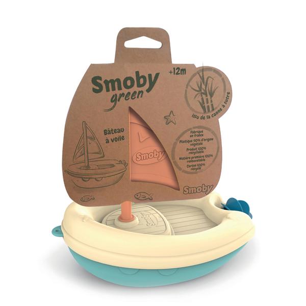 Jouet de bain bateau à voile - Smoby Green