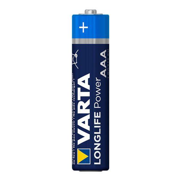 Piles longlife Power Varta AAA/LR03 16+4 gratis