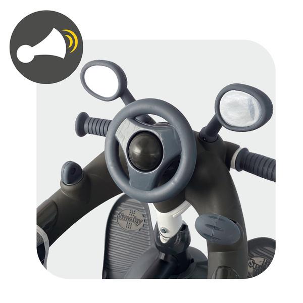 Tricycle évolutif Baby Driver Plus gris