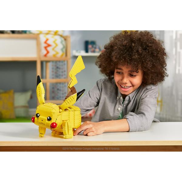 Pikachu géant - Pokémon à construire