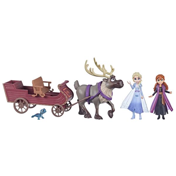 Coffret mini univers traineau et figurines - La Reine des Neiges 2