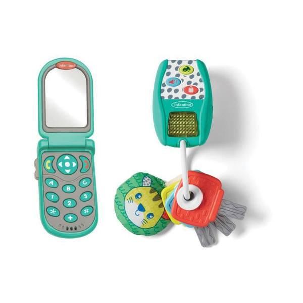 Coffret téléphone avec clés de voitures électroniques