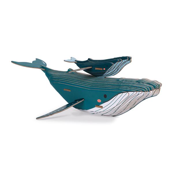 Puzzle 3D Baleine 43 pièces - Partenariat WWF®