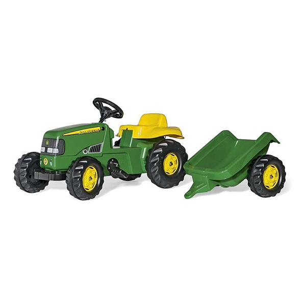 tracteur p dales john deere avec remorque rolly toys king jouet voitures p dales rolly. Black Bedroom Furniture Sets. Home Design Ideas