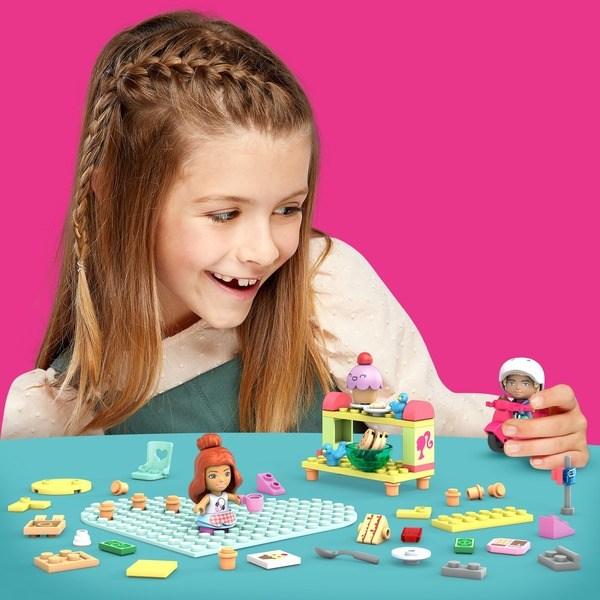 Mega Construx Barbie - Coffret Boulangerie-Pâtisserie