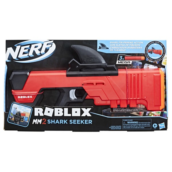 Pistolet Nerf Roblox MM2 : Shark Seeker