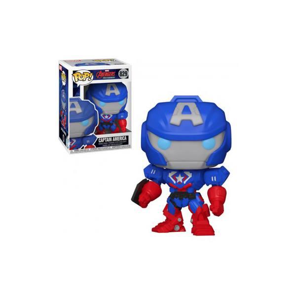 Figurine Avengers Captain America - Mech Strike - Funko Pop - n°829