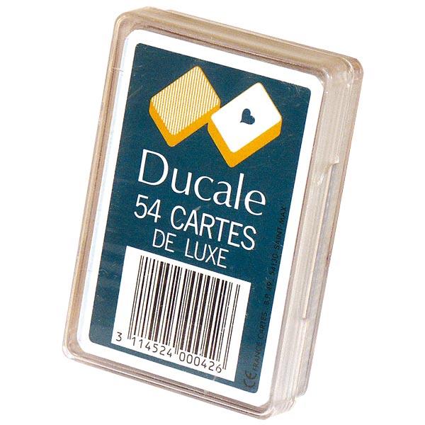 Jeu de 54 cartes de luxe pour 5€
