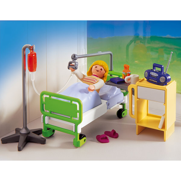 Playmobil jeux cr atifs page n 19 for Fauteuil chambre hopital