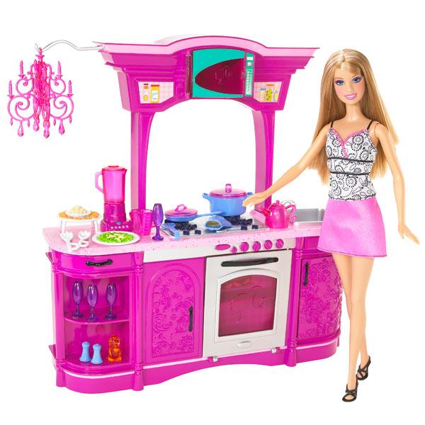 pin cuisine rose avec barbie on pinterest. Black Bedroom Furniture Sets. Home Design Ideas