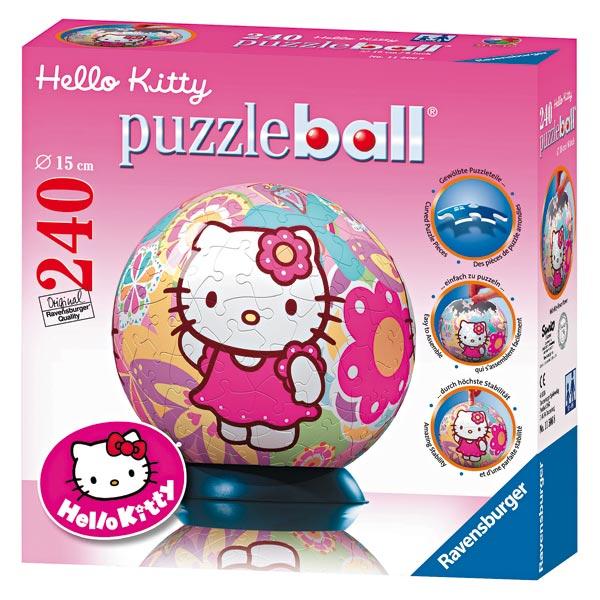 Puzzleball : hello kitty 240 pièces pour 30€