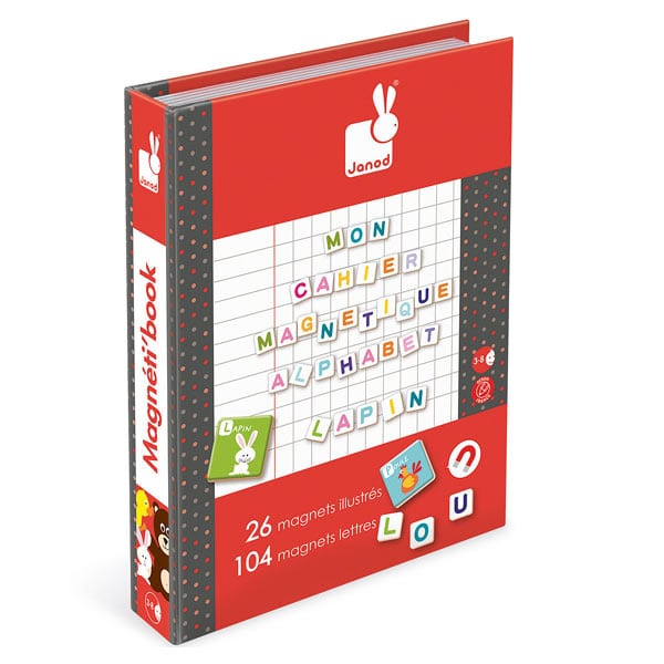 Magneti'book alphabet pour 18€